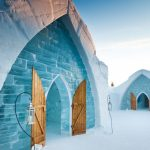 Ice Hotel Front Entrance