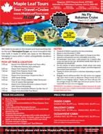 Maple Leaf Tours - Bahamas March Break Cruise 2019