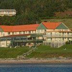 Hotel Riotel Perce Entrance